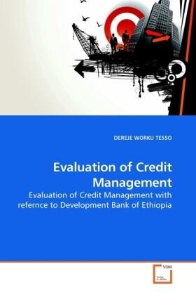 Evaluation of Credit Management als Buch von DE...