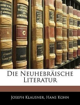 Die Neuhebräische Literatur als Taschenbuch von...