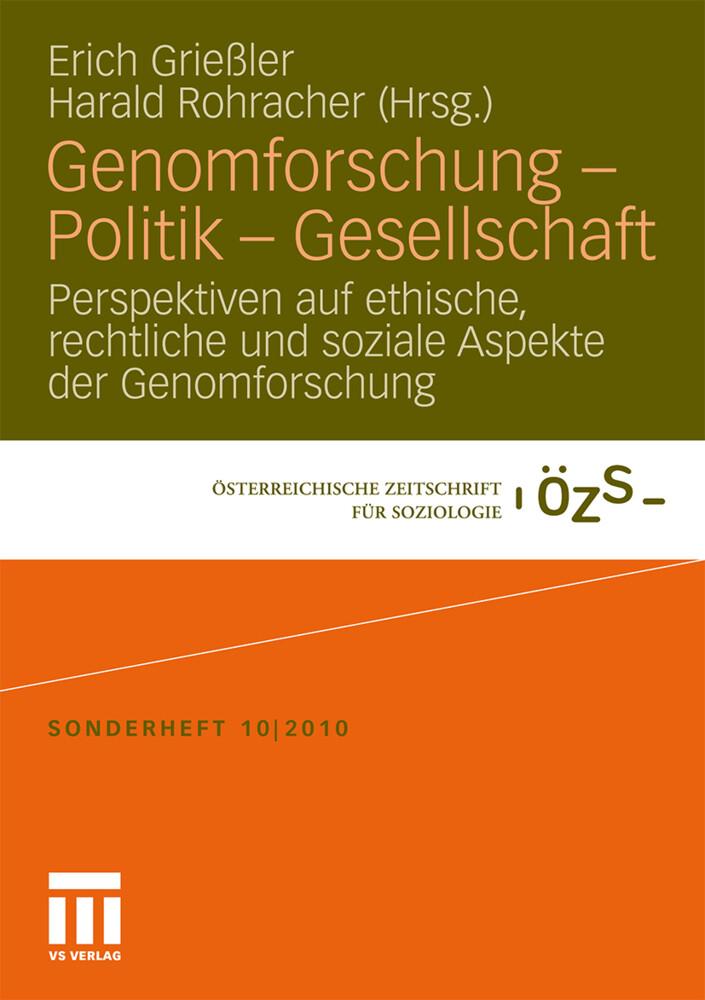 Genomforschung - Politik - Gesellschaft als Buc...