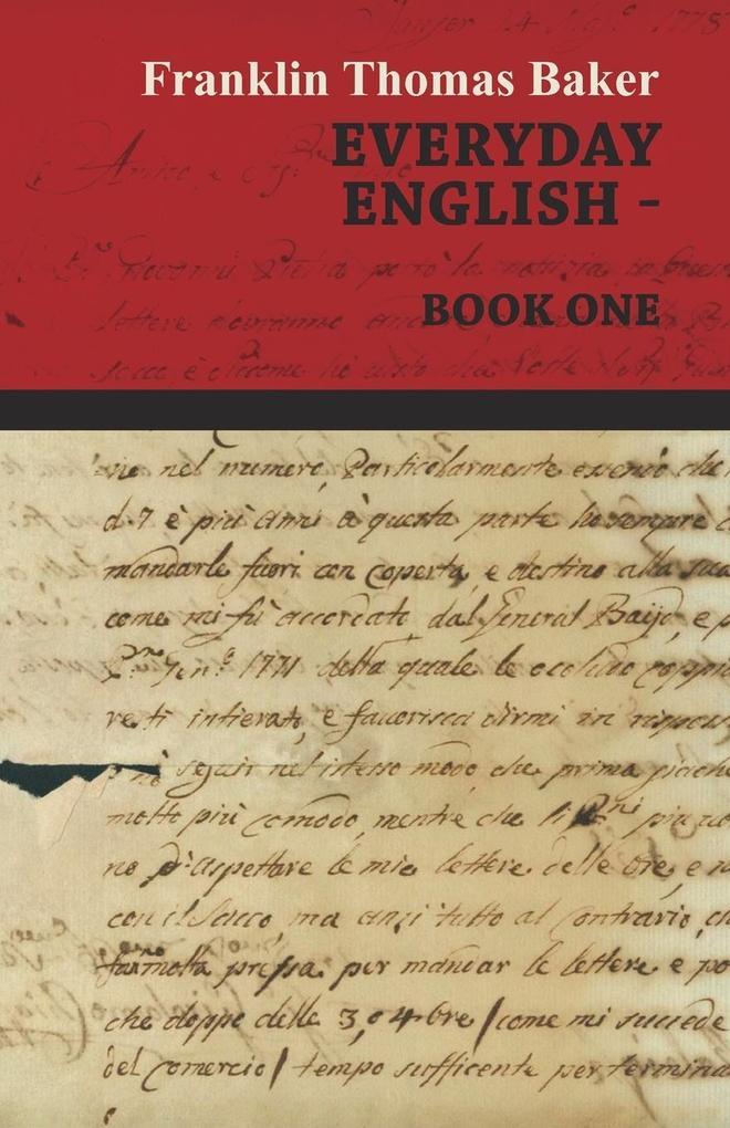 Everyday English - Book One als Taschenbuch von...