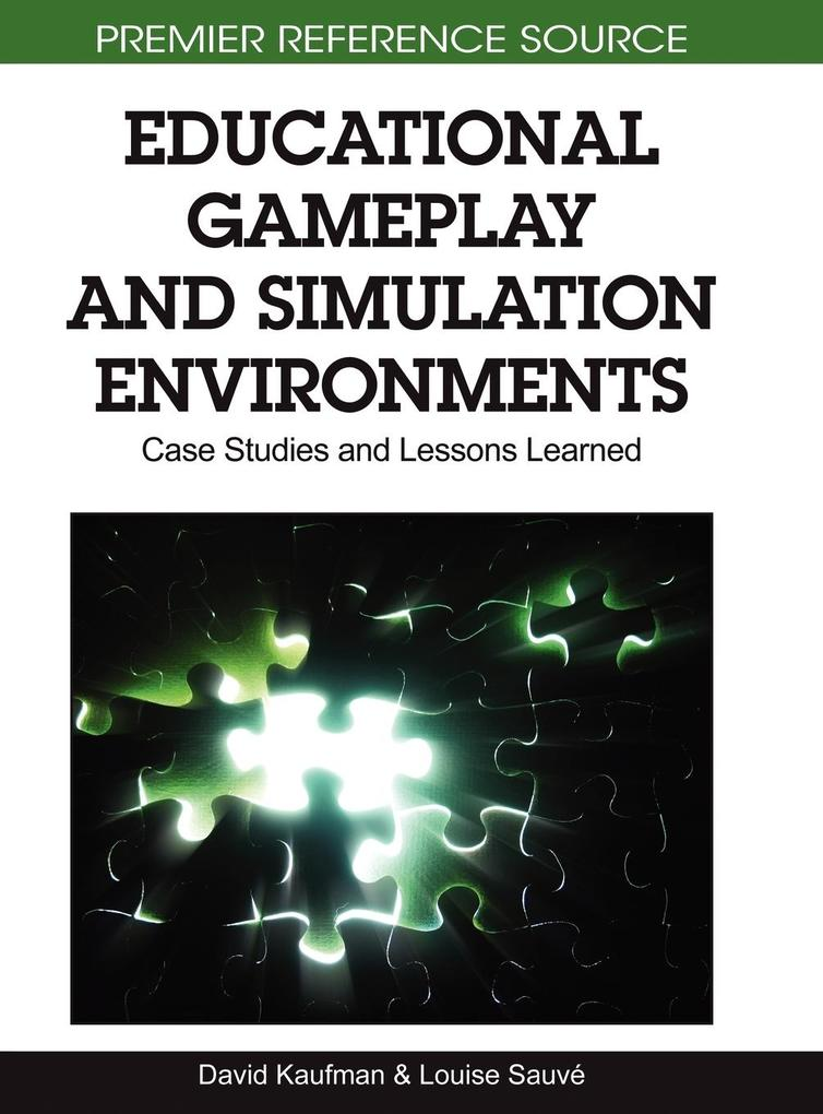Educational Gameplay and Simulation Environment...