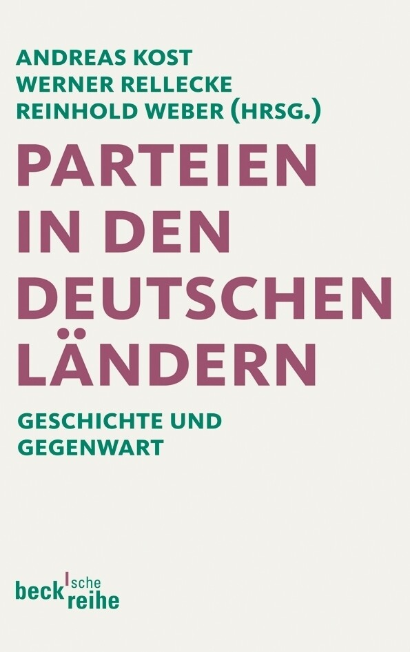 Parteien in den deutschen Ländern als Taschenbu...