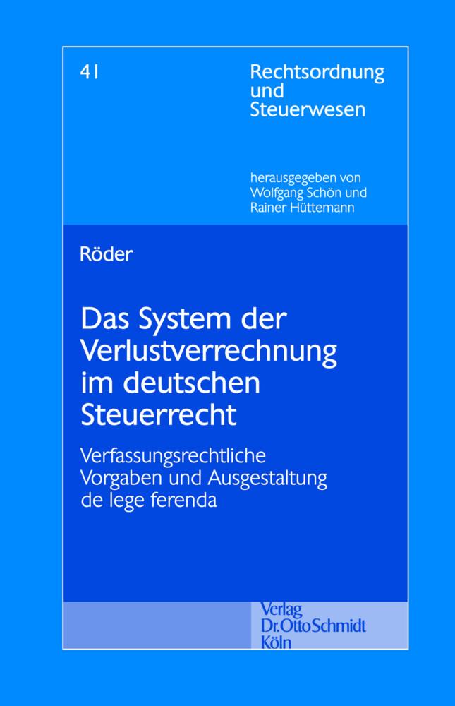Das System der Verlustrechnung im deutschen Ste...