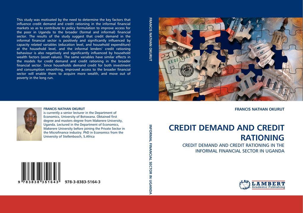 CREDIT DEMAND AND CREDIT RATIONING als Buch von...