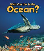 What Can Live in the Ocean?