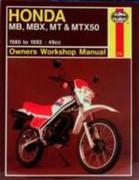 Honda MB, MBX, MT and MTX50 Owner's Workshop Manual