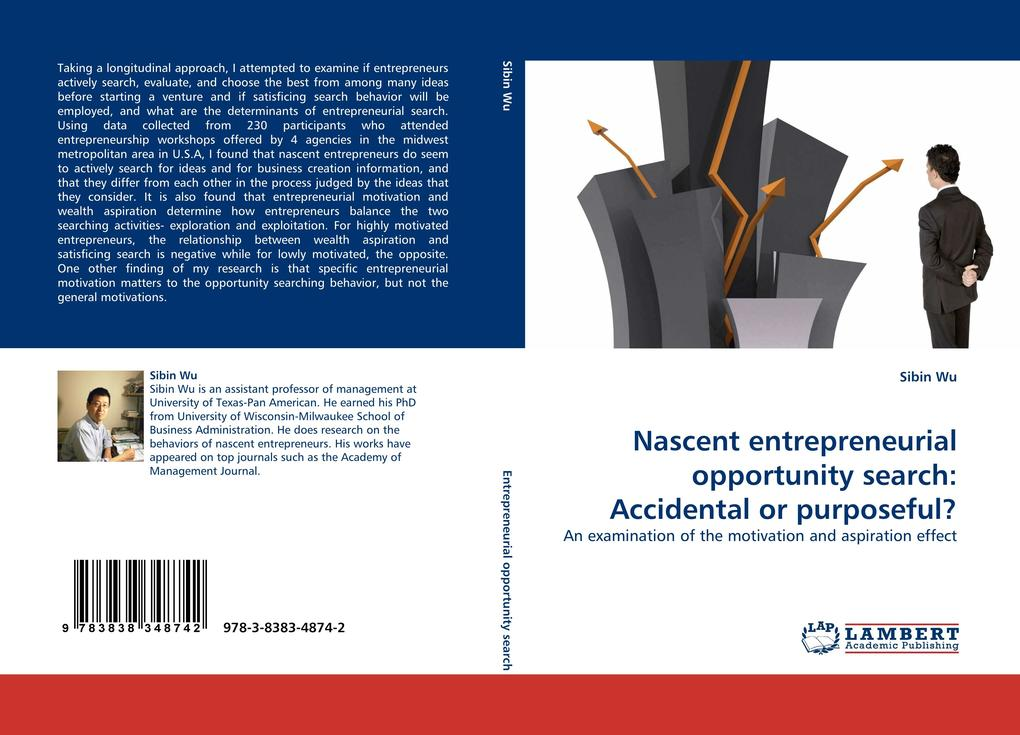 Nascent entrepreneurial opportunity search: Acc...