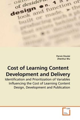 Cost of Learning Content Development and Delive...
