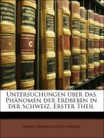 Untersuchungen über das Phänomen der Erdbeben i...