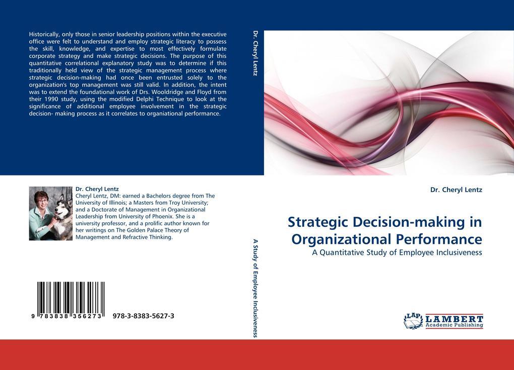 Strategic Decision-making in Organizational Per...