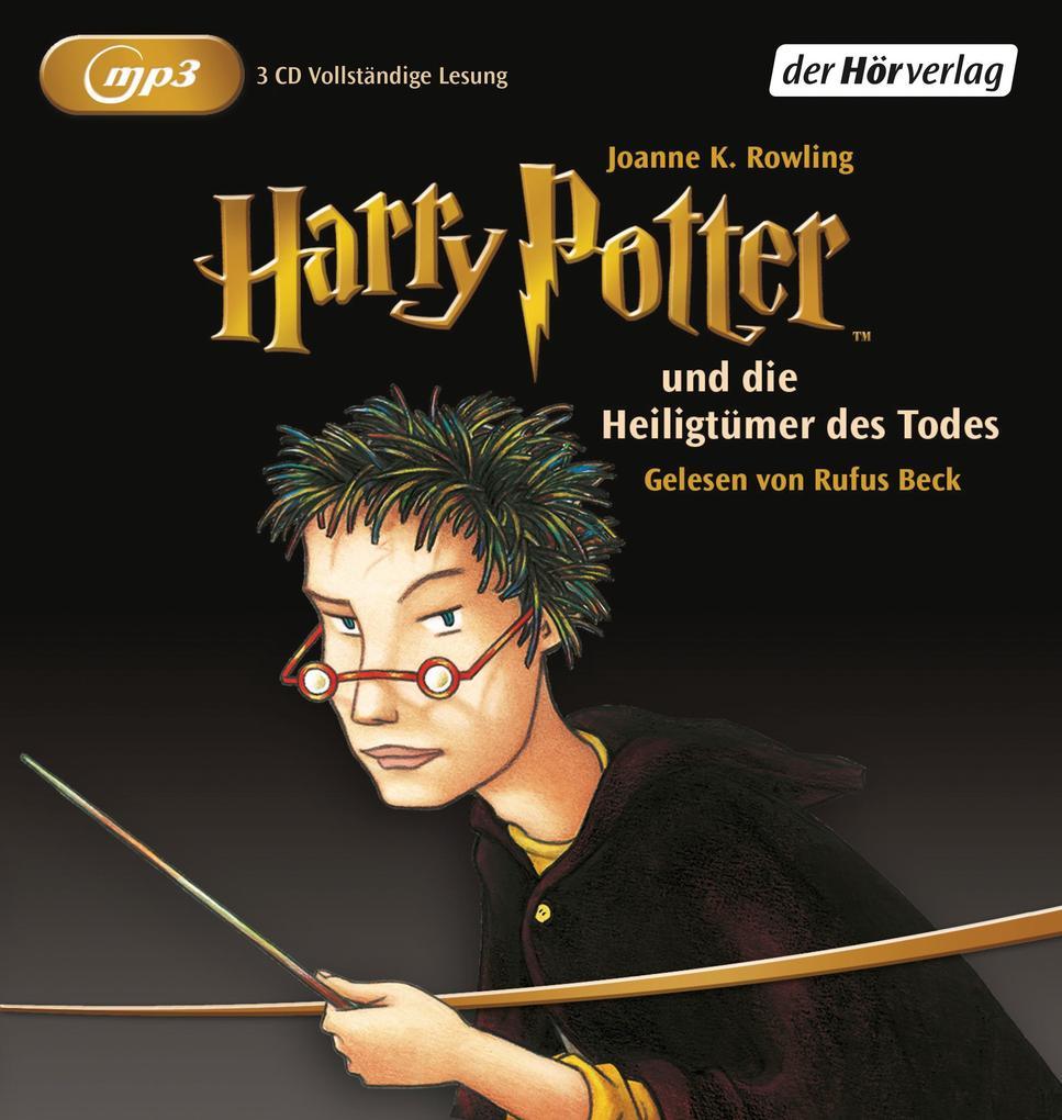 Harry Potter 7 und die Heiligtümer des Todes. 2 MP3-CDs als Hörbuch