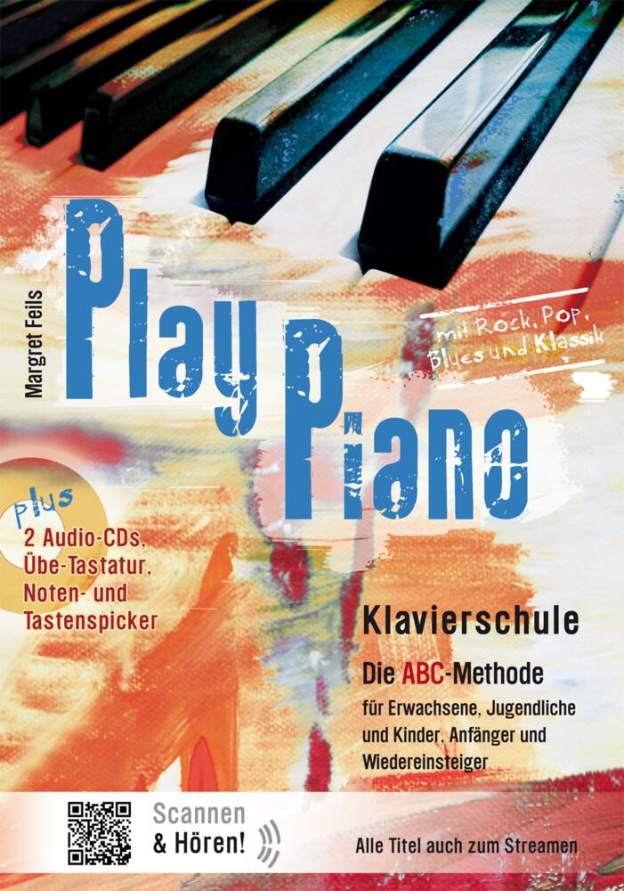 Play Piano Buch Kartoniert Margret Feils