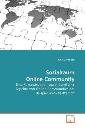 Sozialraum Online Community als Buch von Julia ...