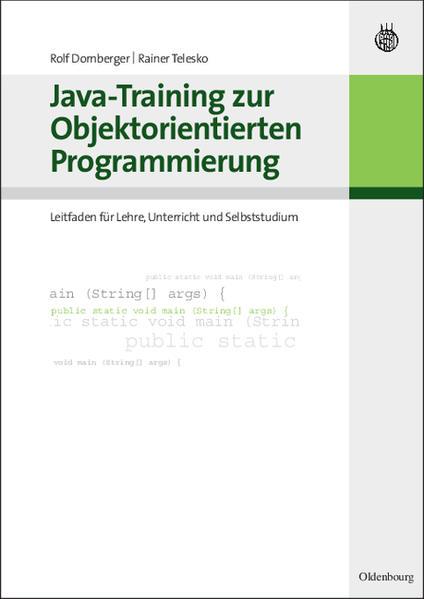 Java - Training zur Objektorientierten Programm...