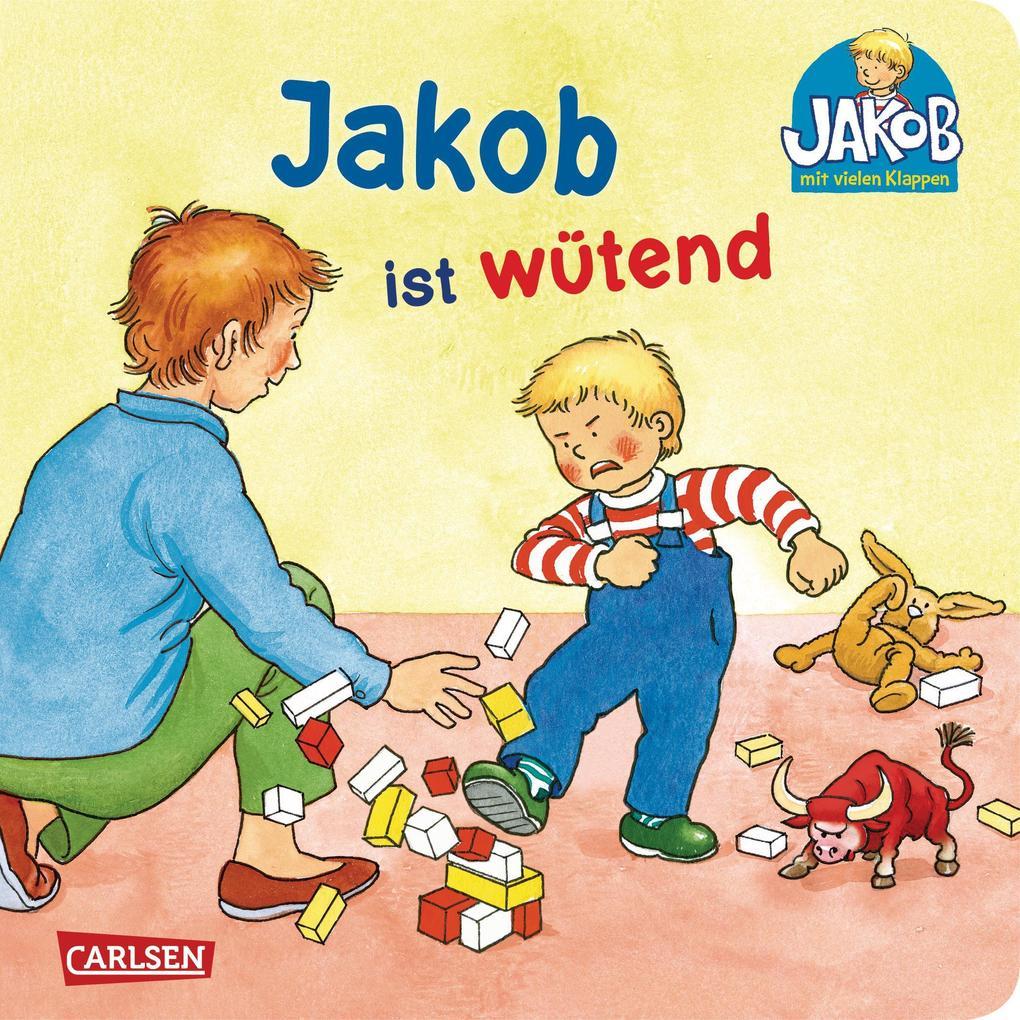 Jakob ist wütend als Buch