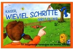 Adlung Spiele - Kaiser, wieviel Schritte gibst ...