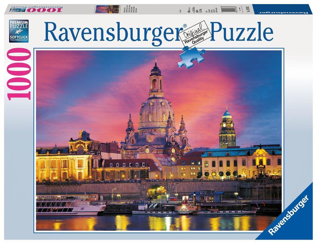 Frauenkirche Dresden. Puzzle 1000 Teile als Spielware