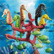 3D Magna Puzzle Seepferdchen 64 Teile