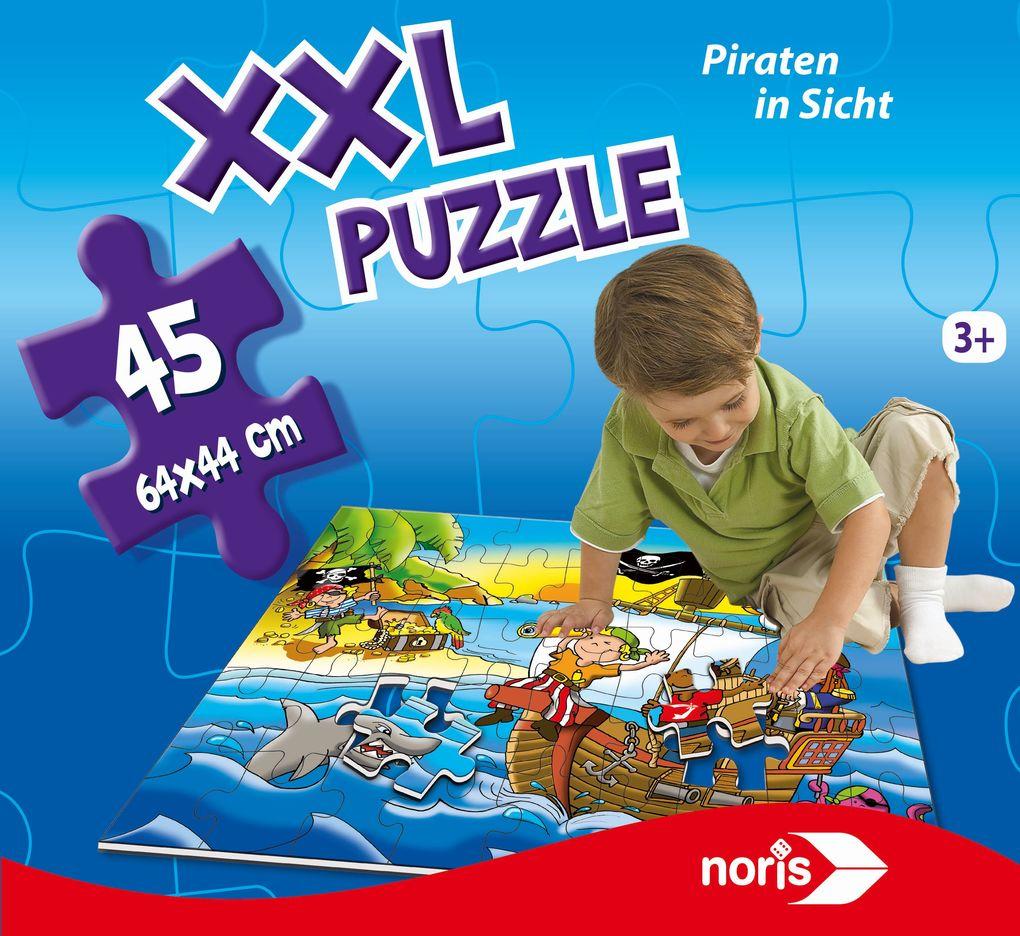 Riesenpuzzle Piraten 45 tlg.