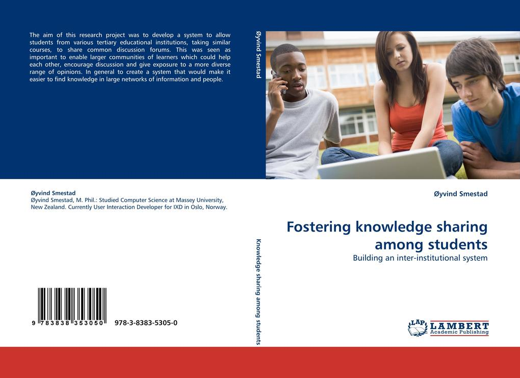 Fostering knowledge sharing among students als ...