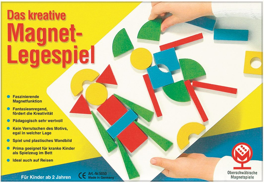 Junior Magnet-Legespiel