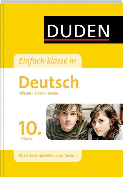 Duden Einfach Klasse in Deutsch. 10. Klasse als Mängelexemplar