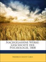 Nachgelassene Werke: Geschichte der Psychologie...
