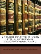 Bibliothek des Litterarischen Vereins in Stuttgart, Dreiundvierzigster Band