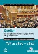 Quellen zur europäischen Verfassungsgeschichte im 19. Teil 2. CD-ROM