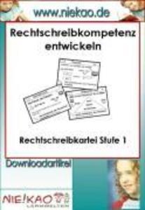 Mit Strategien Schreiben lernen - RS-Kartei 1 a...