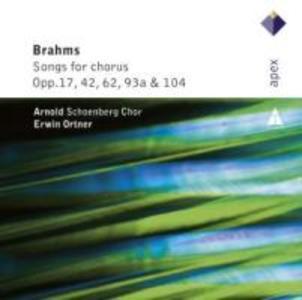 Lieder & Romanzen-Secular Choruses als CD