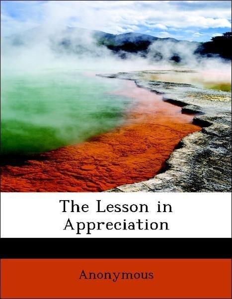 The Lesson in Appreciation als Taschenbuch von ...