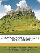 Simon Grunau's Preussische Chronik, Volume 2