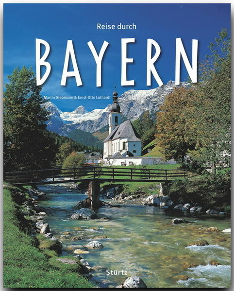 Reise durch Bayern als Buch von Ernst-Otto Luth...