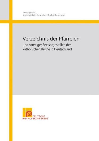 Verzeichnis der Pfarreien als Buch von