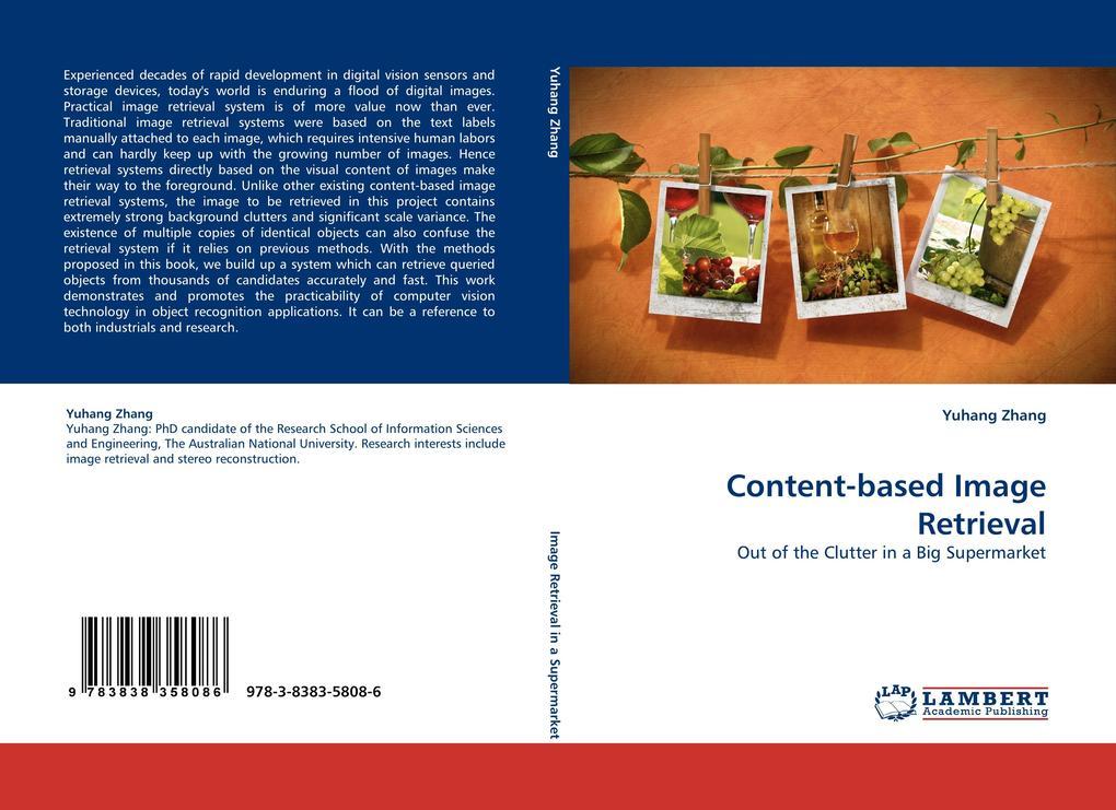 Content-based Image Retrieval als Buch von Yuha...