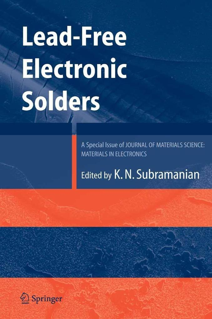 Lead-Free Electronic Solders als eBook Download...