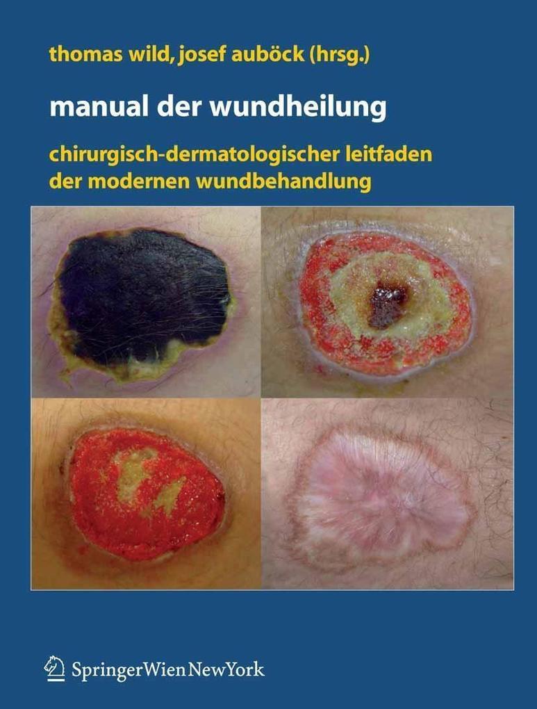 Manual der Wundheilung als eBook Download von