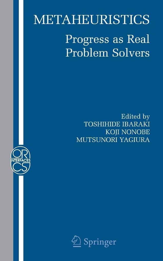 Metaheuristics: Progress as Real Problem Solvers als eBook Download von