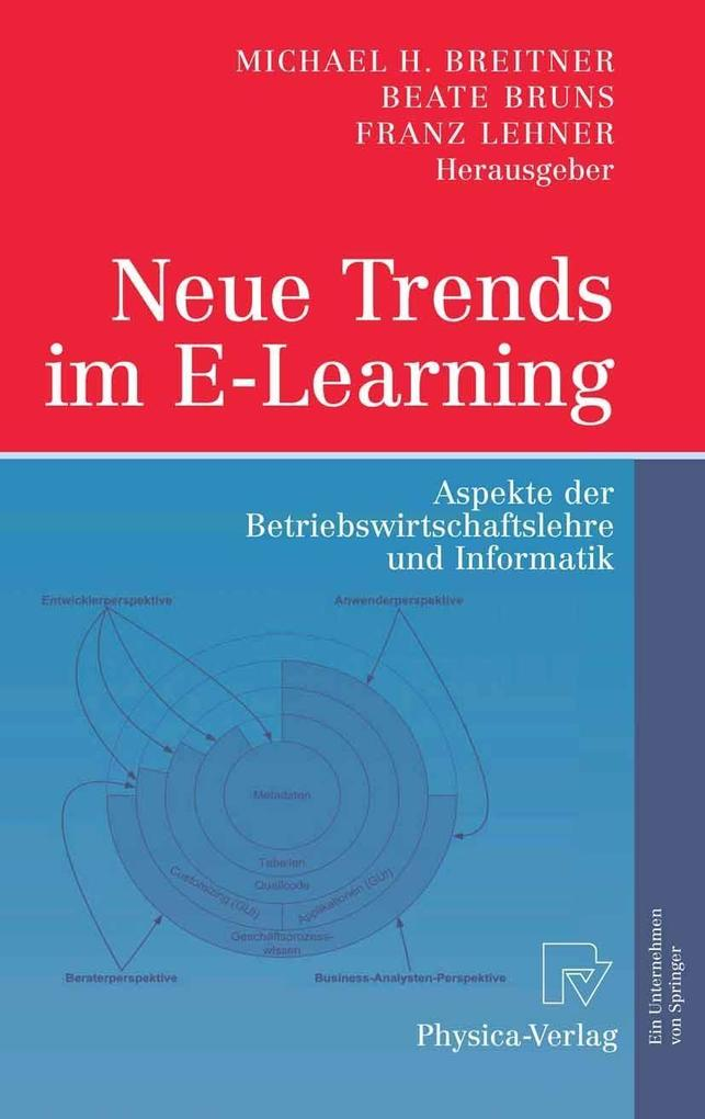 Neue Trends im E-Learning als eBook Download von