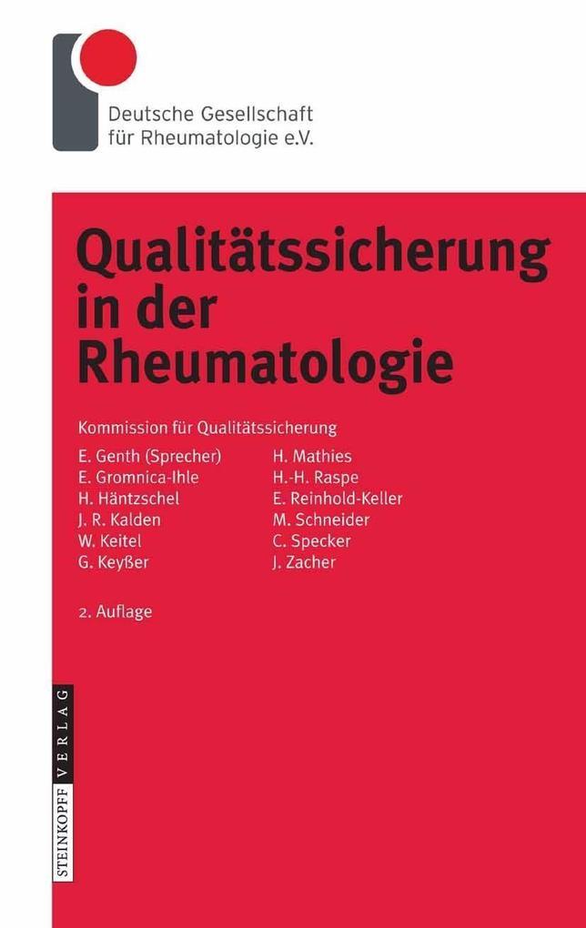 Qualitätssicherung in der Rheumatologie als eBo...