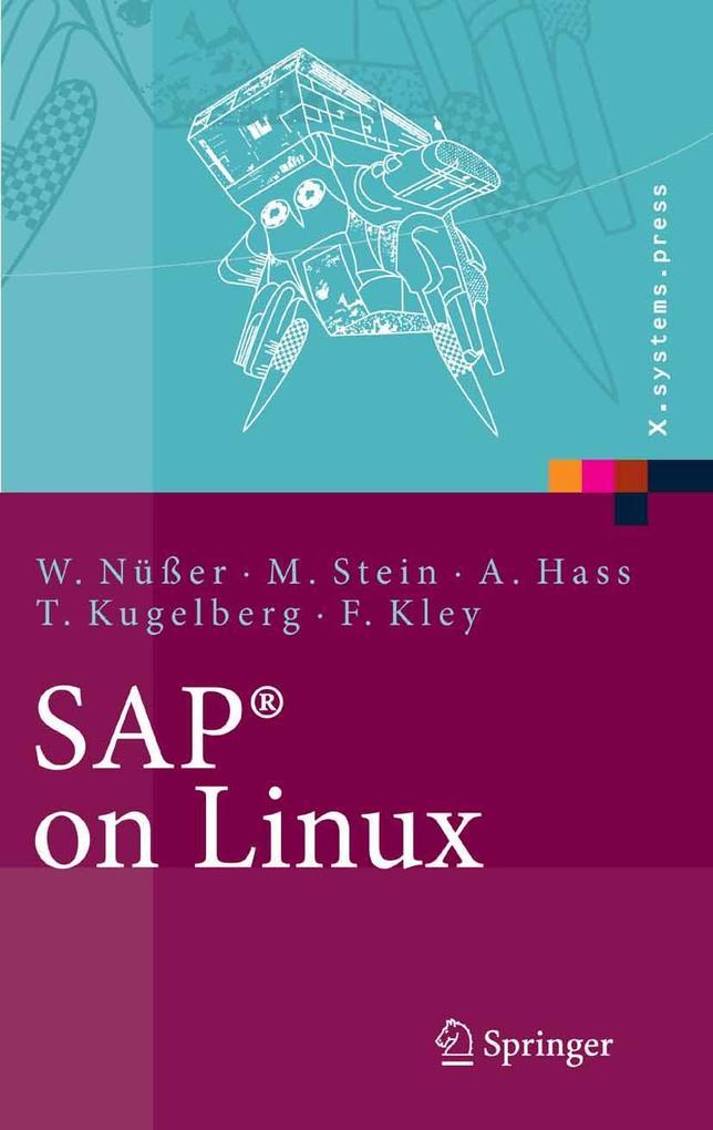 SAP® on Linux als eBook Download von Wilhelm Nü...