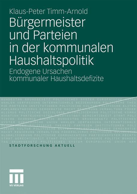Bürgermeister und Parteien in der kommunalen Ha...