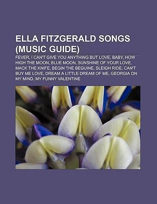 Ella Fitzgerald songs (Music Guide) als Taschen...