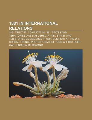 1881 in international relations als Taschenbuch...