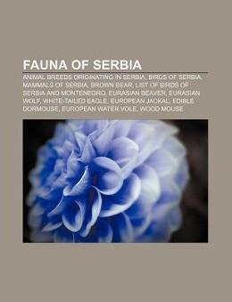 Fauna of Serbia als Taschenbuch von
