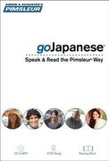 Pimsleur Gojapanese Course - Level 1 Lessons 1-8 CD: Learn to Speak and Understand Japanese with Pimsleur Language Programs [With Book(s) and MP3]