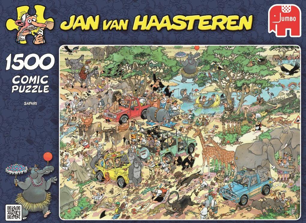 Jumbo Spiele - Puzzle - Jan van Haarsteren - Sa...