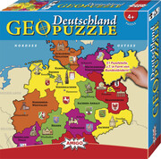 Geo Puzzle Deutschland