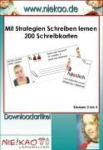 Mit Strategien Schreiben lernen - 200 Schreibka...